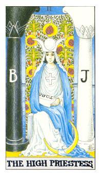The Tarot School: Judgement-High Priestess Birth Cards