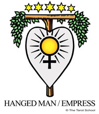 The Tarot School: Hanged Man-Empress Birth Cards