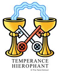 The Tarot School: Temperance-Hierophant Birth Cards